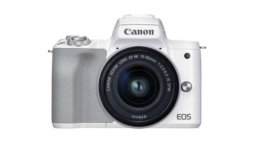 canon eos m50 mark II blanca camara streaming camaras.video