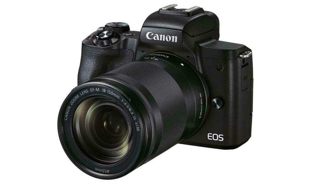 canon eos m50 mark II camara mirrorless youtube camaras.video