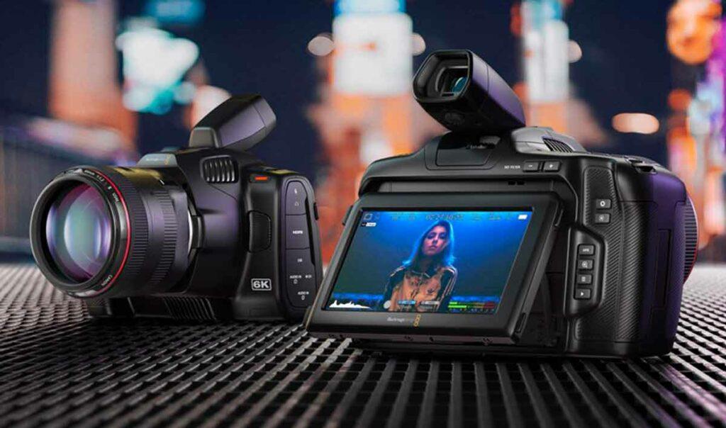blackmagic pocket cinema camera 6K pro camaras.video
