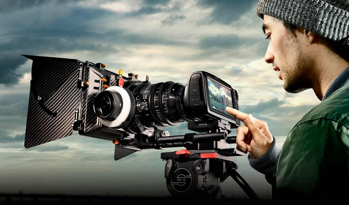 cámara de cine blackmagic pocket cinema camera camaras.video