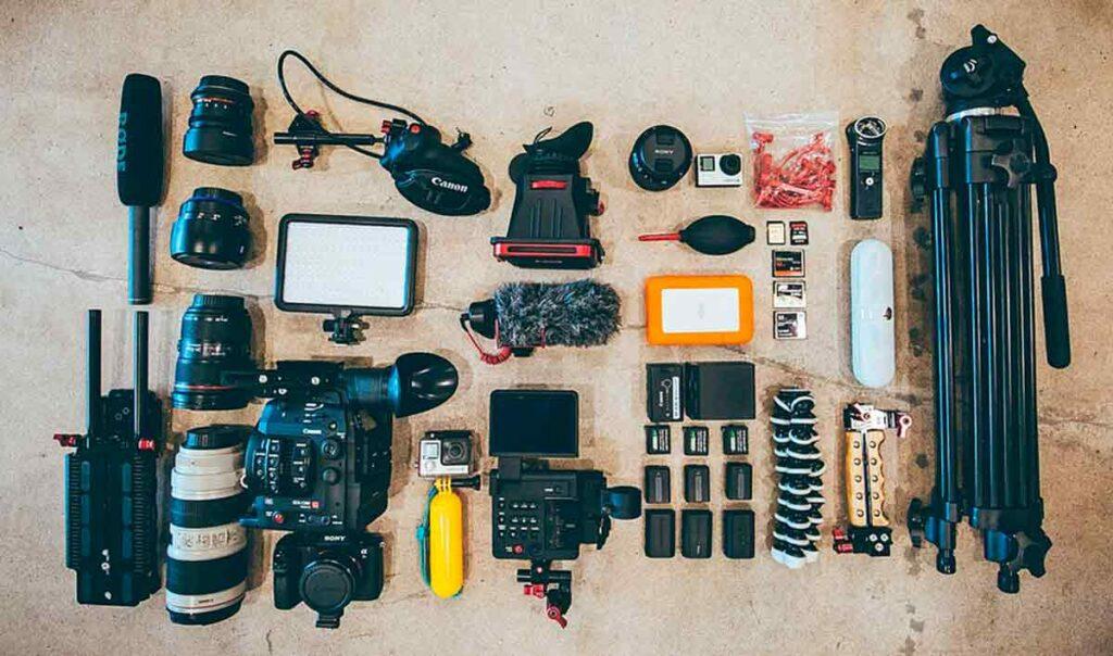 accesorios para cámaras de vídeo camaras.video