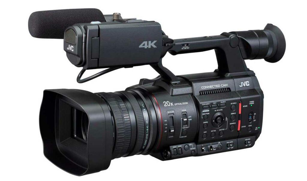 cámaras de vídeo JVC videocámaras profesionales camaras.video