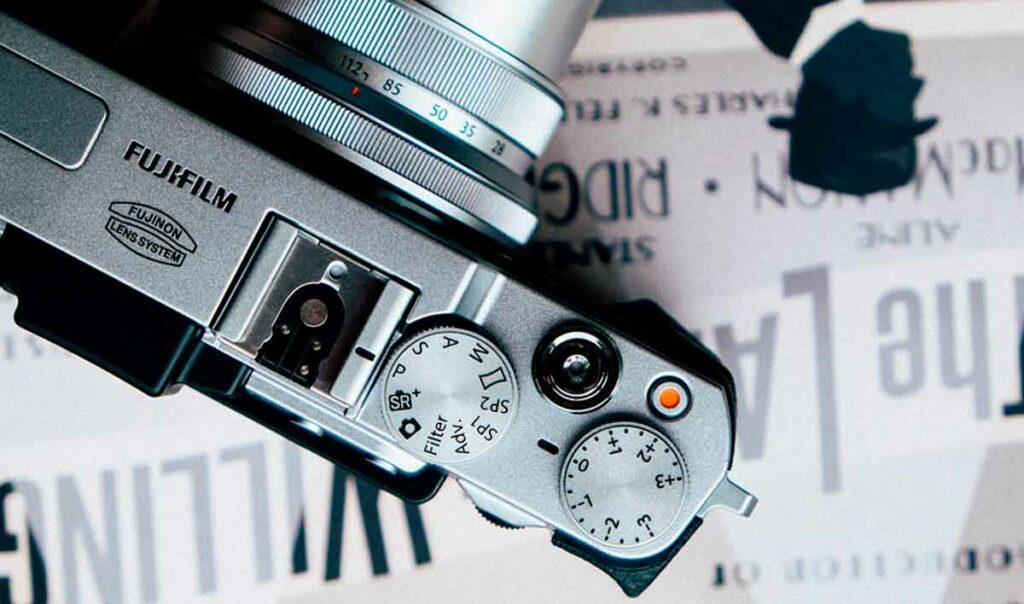 cámaras fujifilm botón vídeo