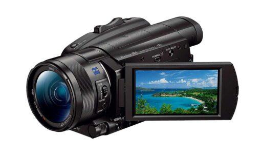 videocámaras sony handycam fdr ax700 cámaras de vídeo