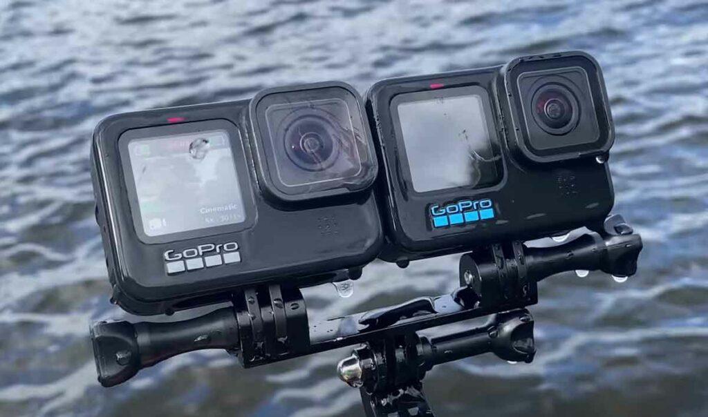 cámara gopro 10 Hero Black con lente hidrofóbica camaras.video