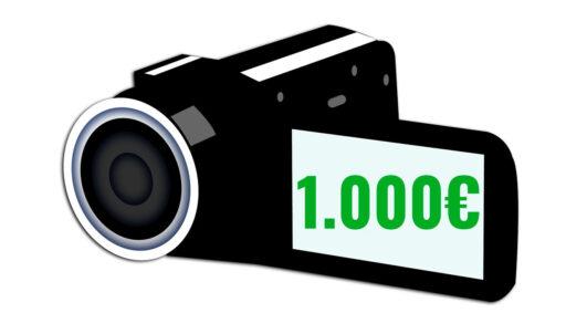 cámaras de vídeo baratas y buenas por menos de 1000 euros camaras.video