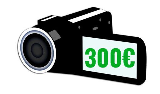 cámaras de vídeo baratas y buenas 300 euros camaras.video