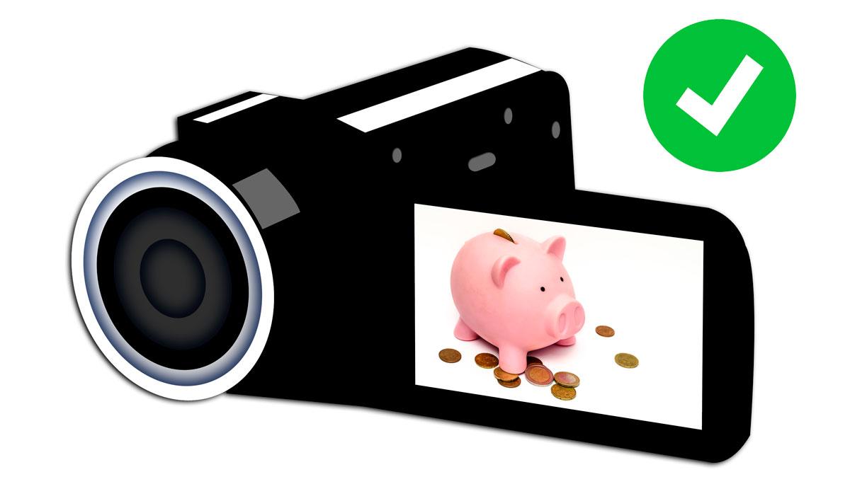 Cámaras de Vídeo Baratas (y Buenas) desde menos de 100 euros